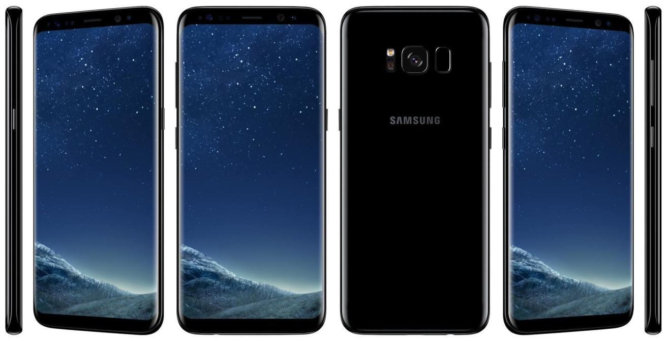 Galaxy S8 Press Official Black - REVIEW: Galaxy S8 e S8+ representam elegância e sofisticação