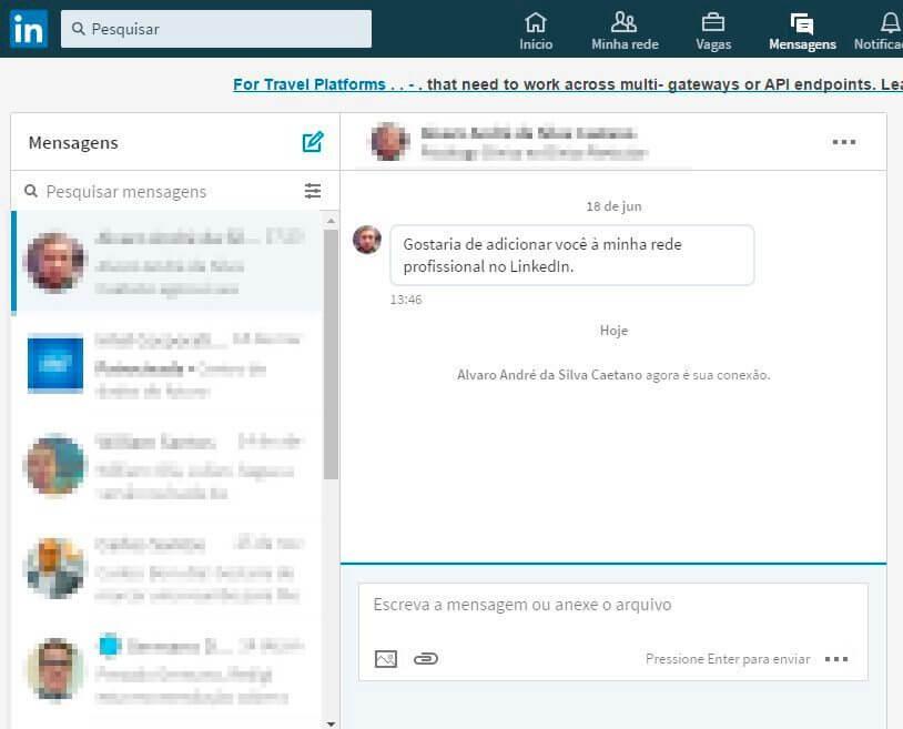 caixa de entrada LinkedIn - Tutorial: como deletar todas as mensagens no LinkedIn automaticamente