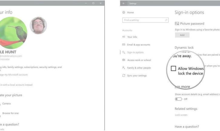 dynamic lock enable 02 320x190 - Tutorial: Como bloquear e desbloquear o Windows pelo celular