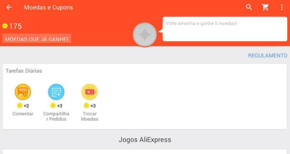 moedas Aliexpress - 7 aplicativos que todo geek precisa ter em seu Android para economizar