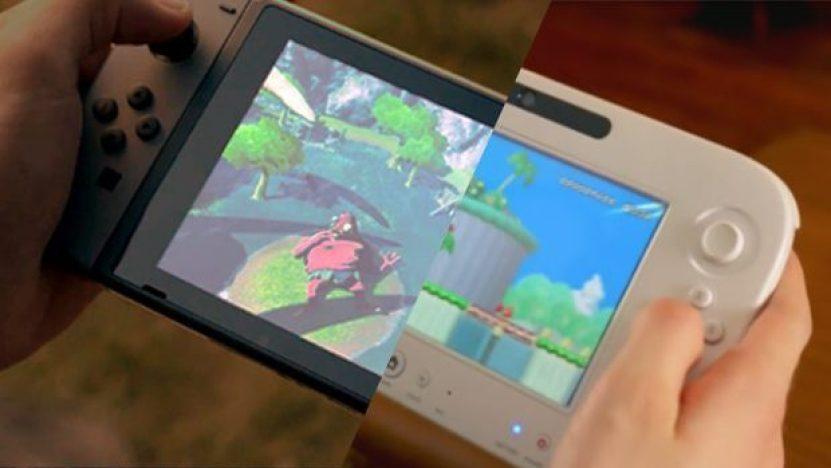 wii u nintendo switch trailer comparison thumb - Nintendo Switch vendeu mais em um mês do que o Wii U em um ano