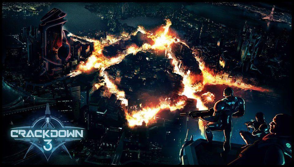Crackdown 3 Teaser Art - O que esperar da Microsoft e Xbox na E3 2017
