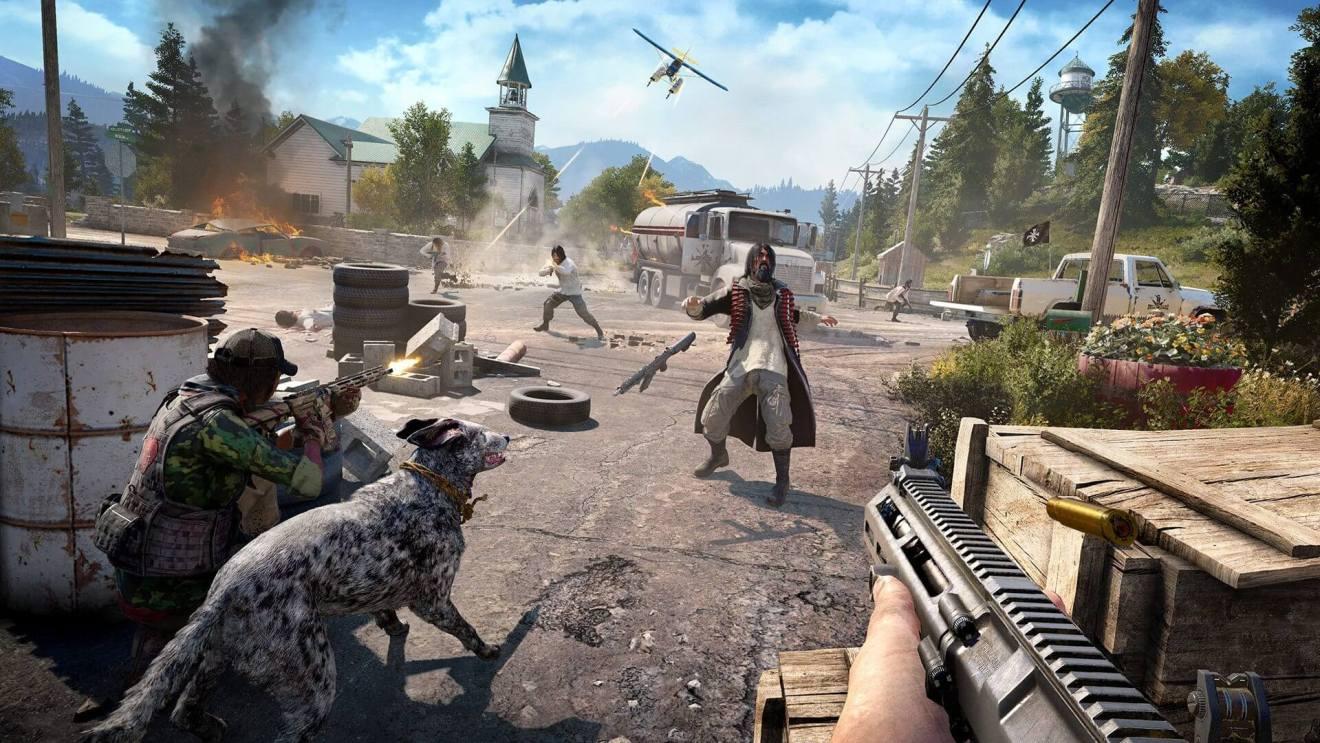 FC5 Screenshot GunsForHire - Far Cry 5 recebe trailer, data de lançamento e história