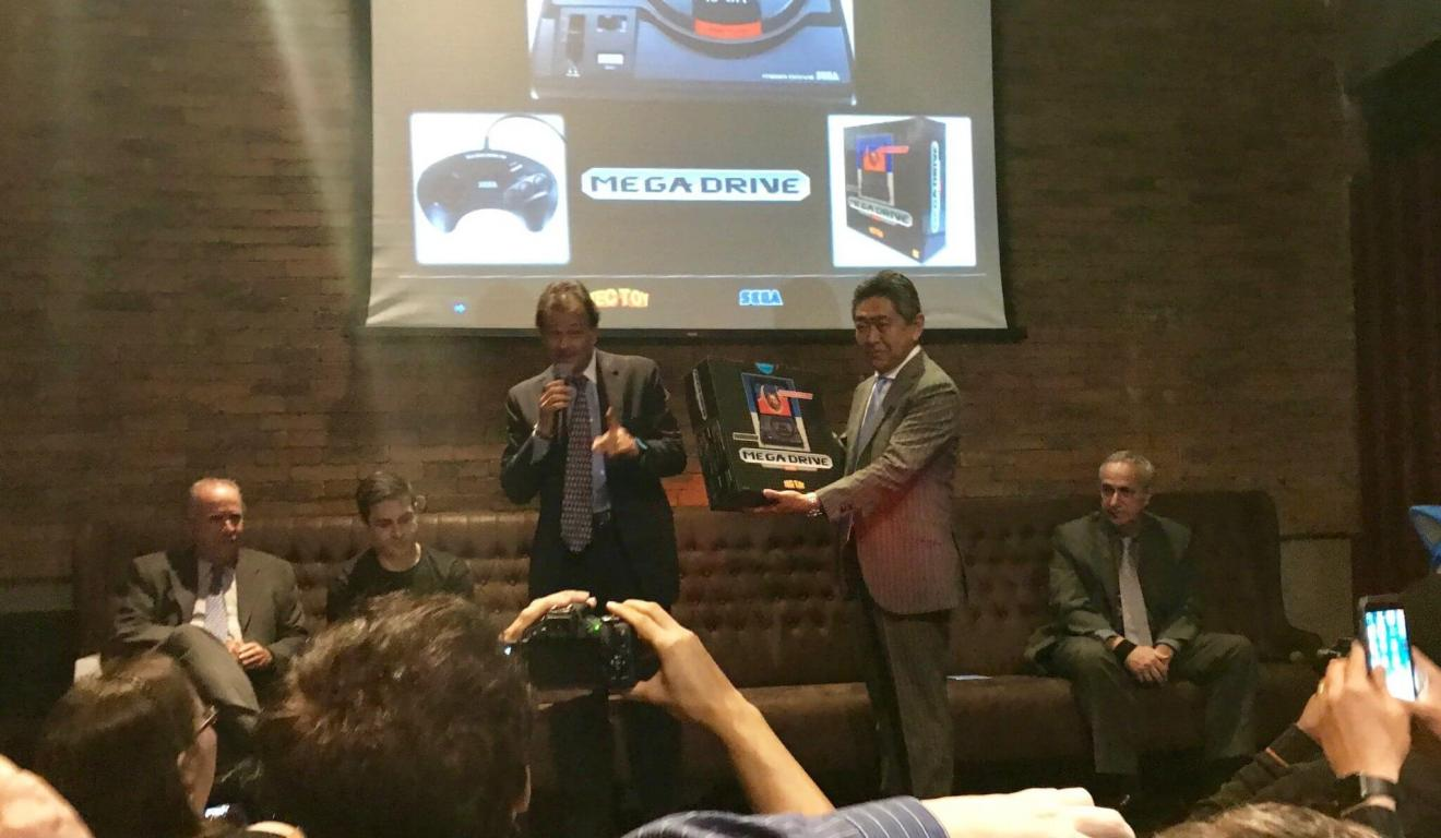 TecToy e SEGA anunciam relançamento do Mega Drive em evento