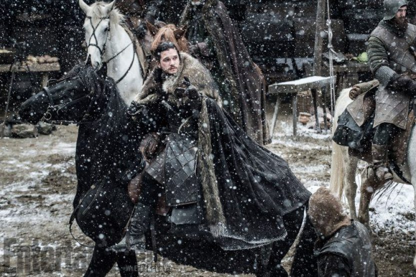 Jon Snow na neve - Dragões e bastidores da próxima temporada de Game of Thrones
