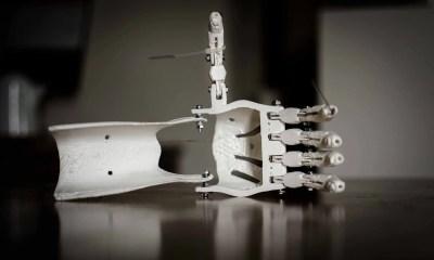 Impressão 3D debraço robótico