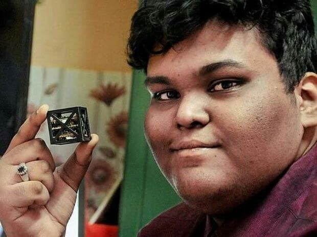 satelite kalamsat - Jovem de 18 anos cria menor satélite do mundo para Nasa