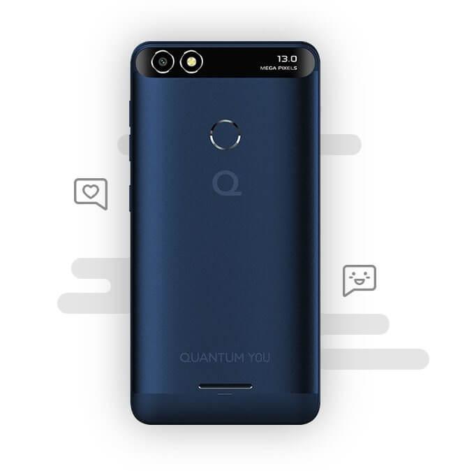 Quantum YOU é o novo smartphone da marca focado para o jovem