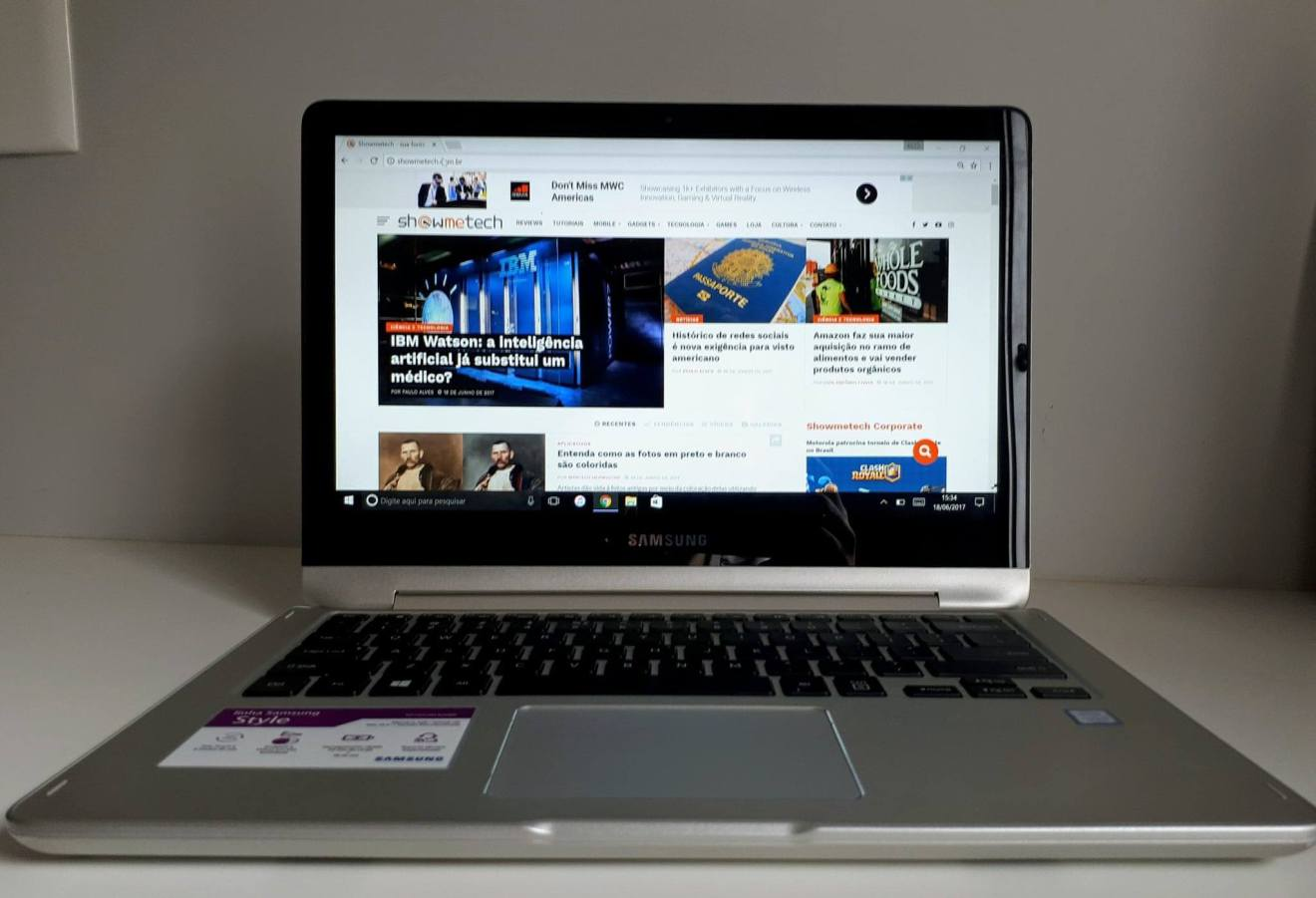 19243588 10207469496255628 973182937 o - Review: Notebook Samsung Style 2 em 1 (2017)