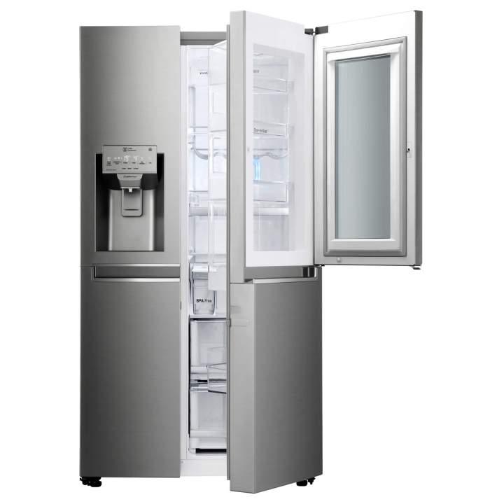 Nova geladeira InstaView