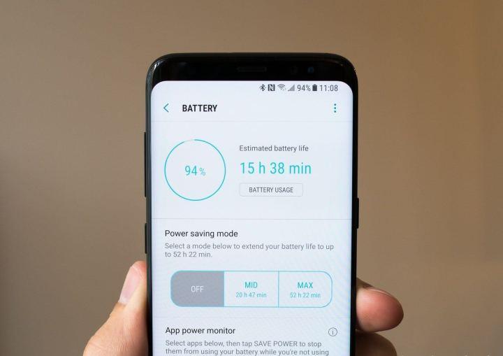 BATTERY GALAXY S8 720x509 - Dicas e truques para o Samsung Galaxy S8 ou S8+