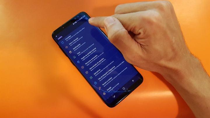 BUSCA NAS CONFIGS GALAXY S8 720x405 - Dicas e truques para o Samsung Galaxy S8 ou S8+