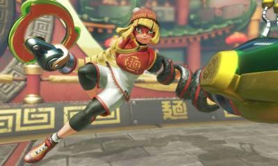 ARMS é lançado para o Nintendo Switch