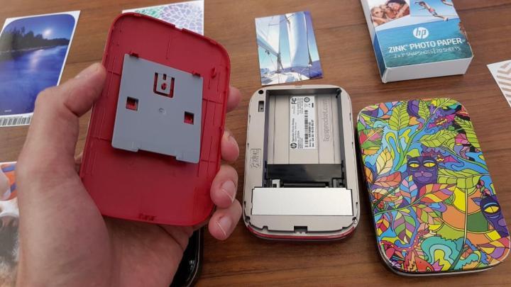 HP lança Sprocket Photo Pinter na cor vermelha
