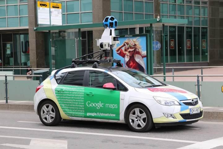 Google Street View's car