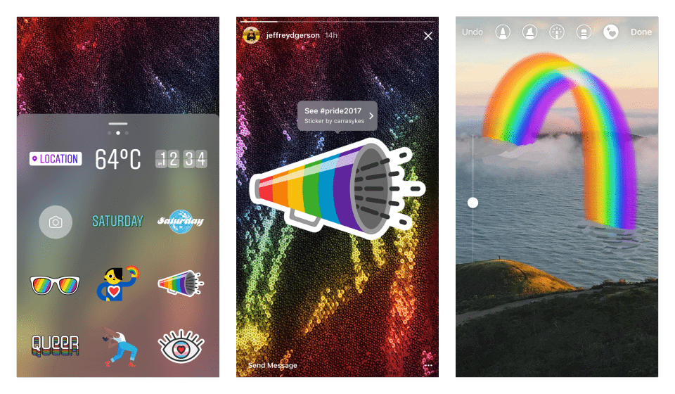 Facebook comemora o Mês de Orgulho LGBTQ+ com filtros e nova reação