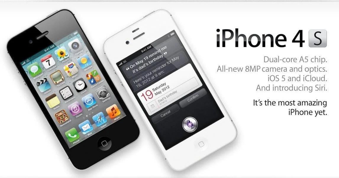 iphone4s - #iPhone10: A evolução do iPhone pelo design