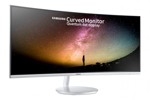 monitor 1 612x408 - Samsung apresenta dois novos monitores curvos