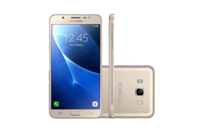 smartphone samsung galaxy j5 metal 16gb douradodual chip 4g cam 13mp selfie 5mp flash tela 5.2 34 216412300 720x461 - Smartphones: confira 10 super ofertas para o mês de junho