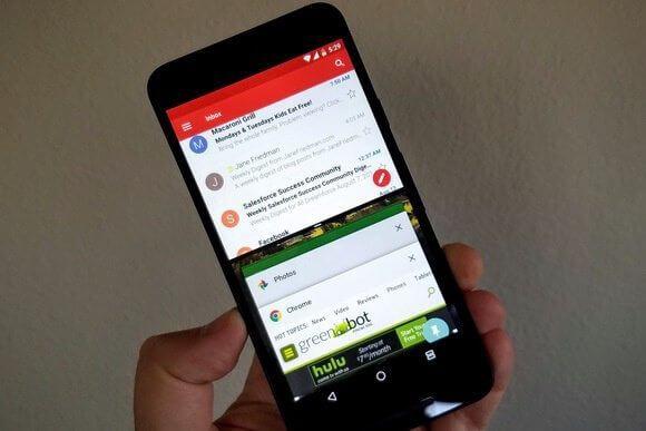 split screen android - Android 7.1.1 Nougat chega ao Zenfone 3 Zoom, Zenfone 3 Laser e linha Xperia Z