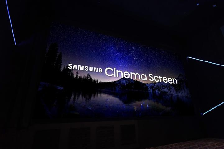 Samsung inaugura o primeiro cinema do mundo com tela LED 4K