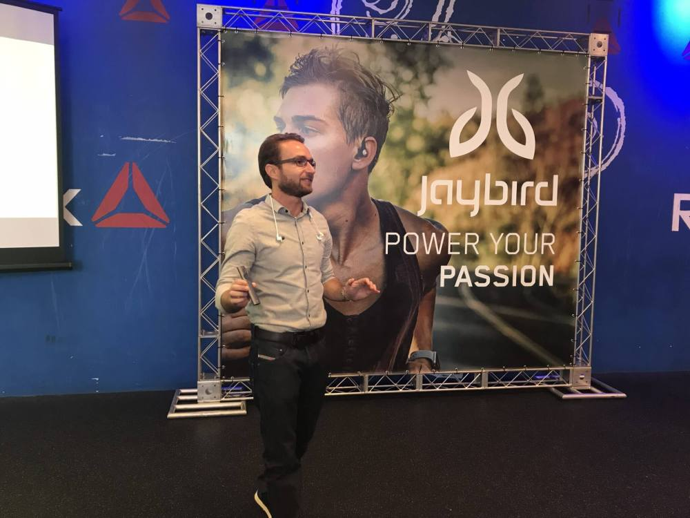 IMG 2715 - Logitech lança fones esportivos Jaybird X3 no Brasil resistentes a suor