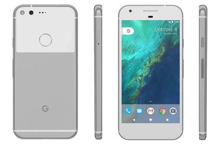 Imagem vazada mostra o novo Google Pixel com tela sem bordas 2
