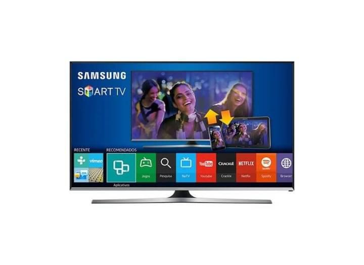 smart tv tv led 40 samsung full hd netflix un40j5500 3 hdmi photo41708901 12 3e 3f 720x524 - Fim do sinal analógico aumenta procura por Smart TVs; confira as mais buscadas