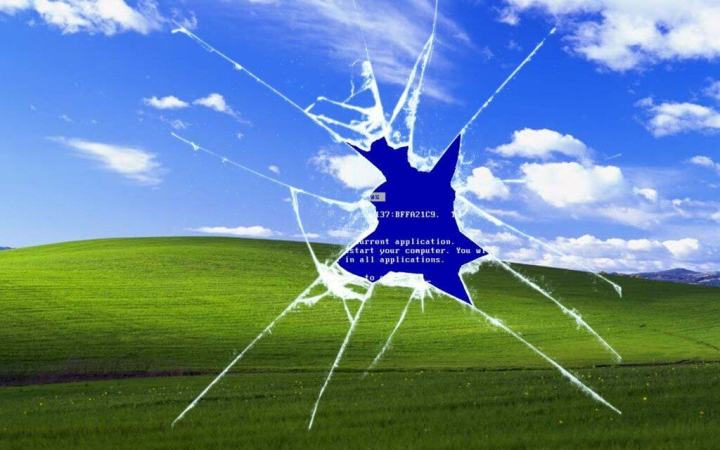Windows XP foi responsável pela falha