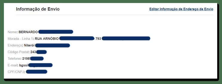 05 confirme seus dados pessoais e endereco - Tutorial: Como parcelar suas compras na GearBest, sem juros