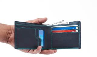 carteira dinheiro documentos