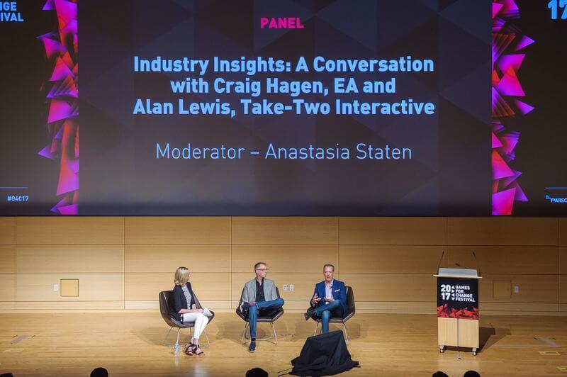 games for change 2017 ea take two panel 3828 - EA e Take-Two dizem que Trump está prejudicando a indústria americana de games