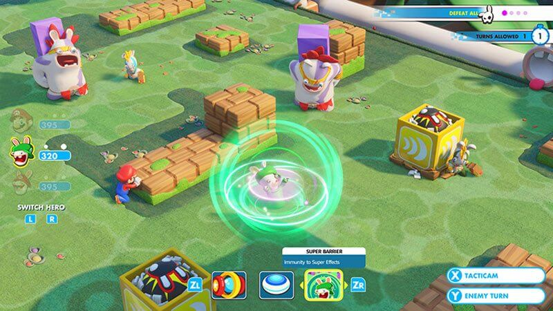 Review: Mario + Rabbids Kingdom Battle para Nintendo Switch