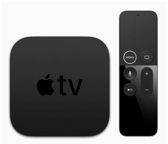 Apple TV 4K set