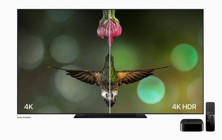 appletv hummingbird 4K HDR comparison 720x455 - iPhone X: confira tudo o que a Apple lançou nesta terça-feira