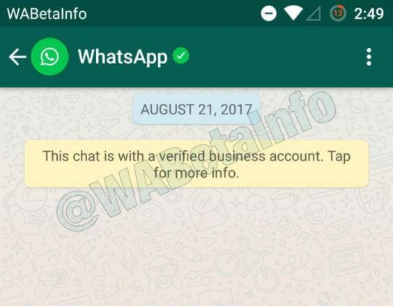 chatwithverified 768x598 - Whatsapp bloqueia emojis de 'check' em nomes de pefil; entenda