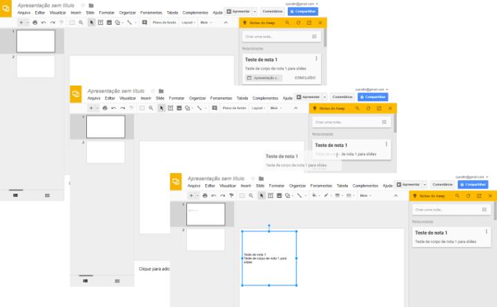 google slides keep 720x445 - Google Slides ganha novos recursos para aumentar sua produtividade