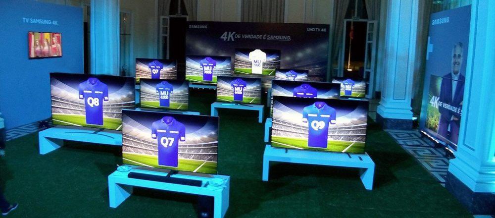 time de tvs 4k - Samsung e SporTV firmam parceria para transmissão de jogos em 4K
