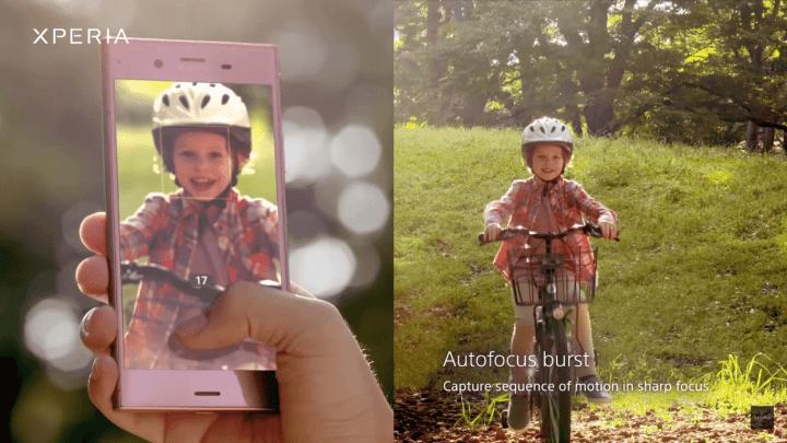 Autofocus Burst 720x405 - Xperia XZ Premium começa a receber o Android Oreo