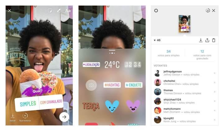Poll Sticker 720x420 - Instagram Stories: Conheça o novo recurso de Enquetes