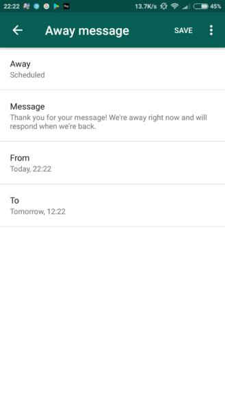 WhatsApp Business foto mensagem fora - WhatsApp Business já está disponível para testes; conheça