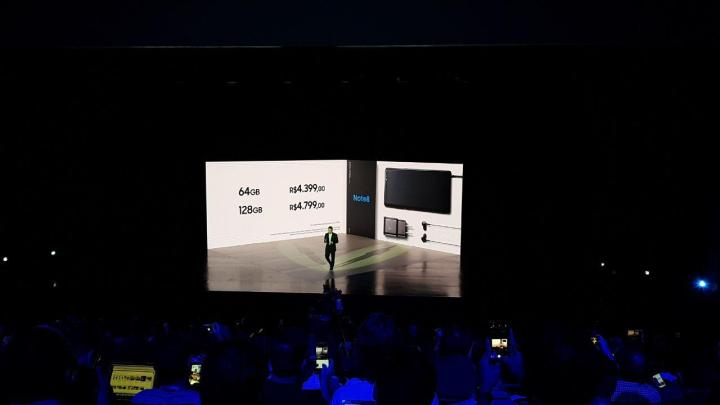 Galaxy Note 8: confira preços, informações e promoções para o Brasil