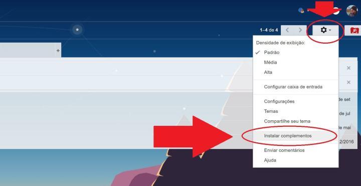 extensoes gmail 720x371 - Gmail agora suporta aplicativos de outras empresas