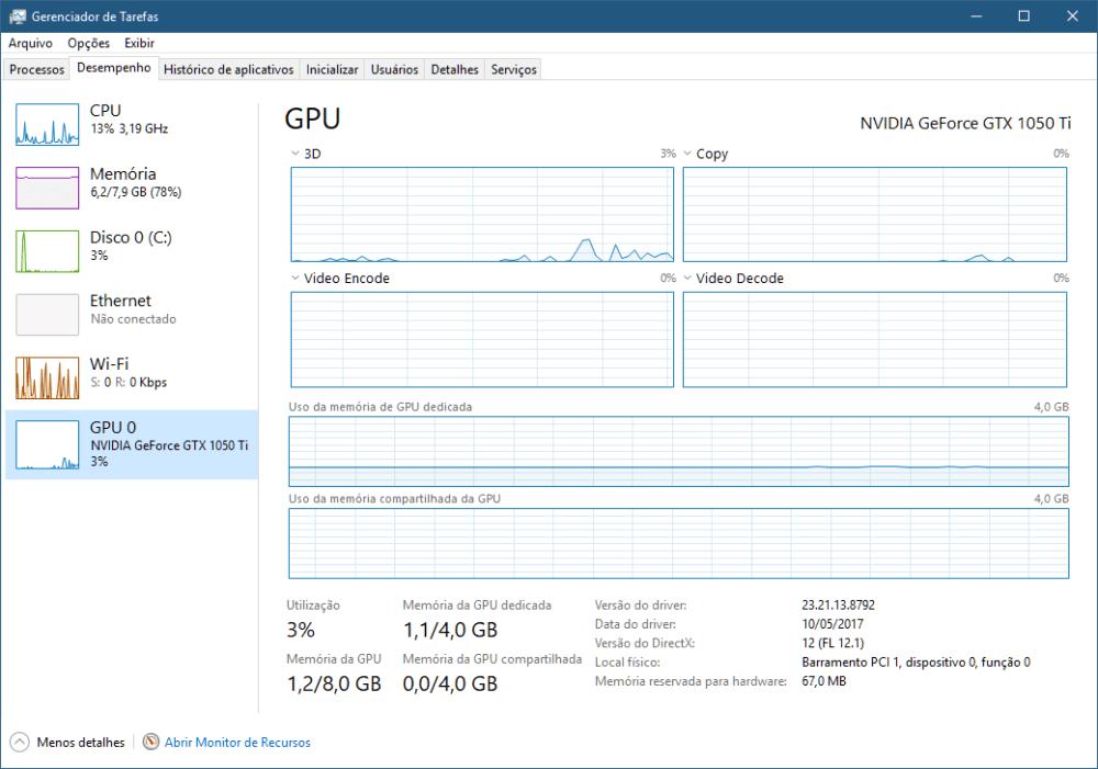 gpu gerenciador 01 - Veja todas as novidades do Windows 10 Fall Creators Update