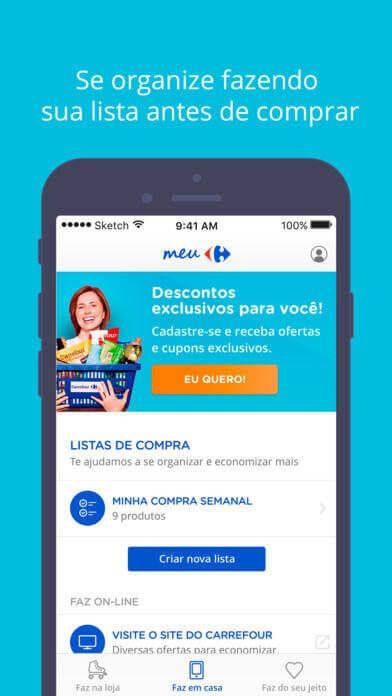 Carrefour lança plataforma mobile de benefícios e e-commerce 10