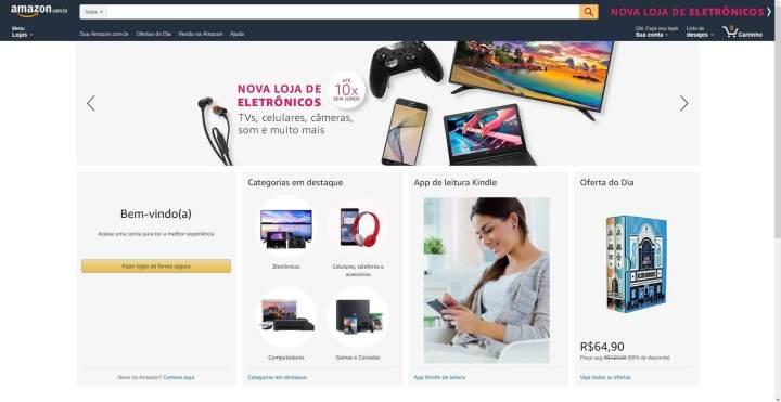 Amazon Brasil começa a vender de tudo! Confira 6