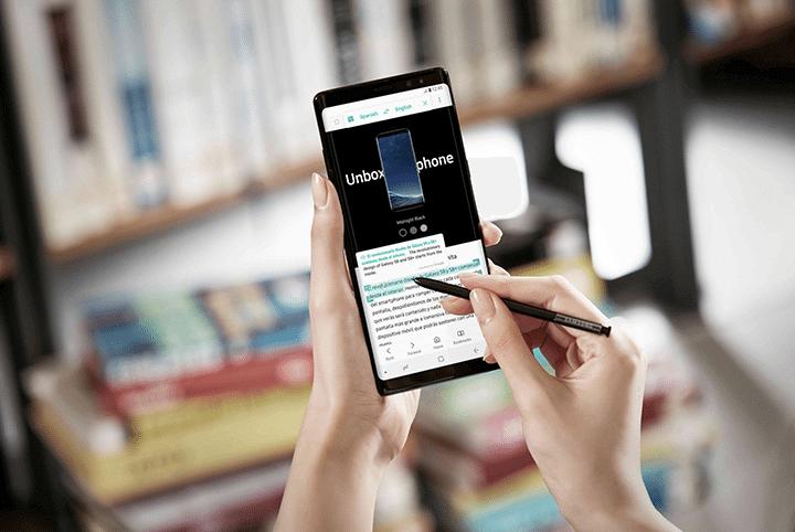 showmetech o que fazer caneta s pen samsung galaxy note 8 traduzir e converter 720x482 - Galaxy Note 8: o que dá pra se fazer com a nova S Pen?