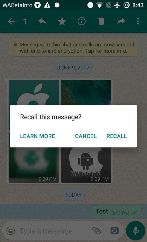 Finalmente! Whatsapp libera função para anular mensagens enviadas 5