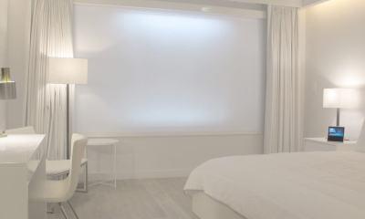 Conheça o 'quarto de hotel do futuro', criado em parceria com a Samsung