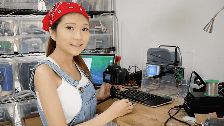 Maker tutorial on configuring a Raspberry Pi 2 720x404 - Inventora tecnológica chinesa é vítima de machismo americano